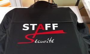 Flocage de veste avec logo de l'entreprise